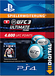 UFC 3: 4600 UFC Points (Playstation 4-Digital)
