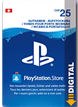 PlayStation Store Guthaben CHF 25.-- (Sony)