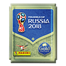 Panini 2018 FIFA World Cup TM offizielle Stickerkollektion -Gold Edition- (Panini Sticker)
