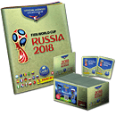 Panini 2018 FIFA World Cup TM offizielle Stickerkollektion 100er Box & offizielles Stickeralbum -Gold Edition- (Panini Sticker)