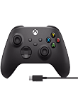 Xbox Wireless Controller + Cable for Windows 10 (PC)