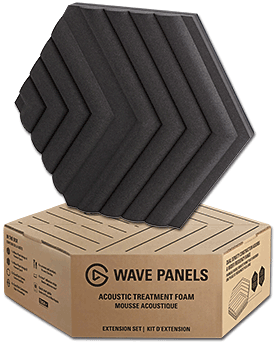 Wave Panels Extension Set -Black- (Elgato)