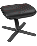Footrest -Black/Red- (noblechairs)