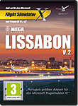 Flight Simulator X: Mega Airport Lissabon V2.0 (PC Games)