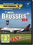 Flight Simulator X: Mega Airport Brussels V2.0 (PC Games)