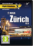 Flight Simulator X: Mega Airport Zürich V2.0 (PC Games)