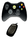 Game Pad XB360 Wireless Windows -black- (Microsoft)