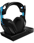 Headset A50 Wireless 2016 -Black/Blue- (Astro) (PC Games)