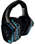 Headset G933 Wireless Artemis Spectrum -Black- G-Series (Logitech) (PC Games)