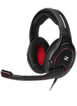 Game One Open Acoustic Gaming Headset -Black- (Sennheiser)