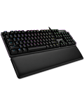 G513 Carbon Mechanical RGB Keyboard GX Blue Clicky -CH Layout- (Logitech)