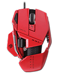 Maus Cyborg R.A.T. 7 -red- (Mad Catz)