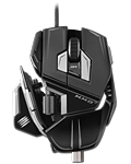 Maus M.M.O. 7 -Gloss Black- (Mad Catz)