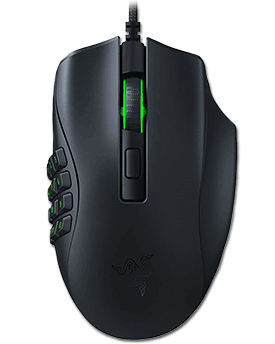 Naga X Ergonomic MMO Gaming Mouse (Razer)