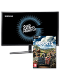 QLED Curved Gaming Monitor C27HG70 (Samsung) inkl. PC-Digitalversion von BF1 Revolution