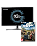 QLED Curved Gaming Monitor C32HG70 (Samsung) inkl. PC-Digitalversion von Far Cry 5