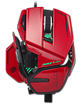 R.A.T. 8+ ADV Gaming Mouse -red- (Mad Catz)