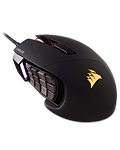 Scimitar Pro RGB Gaming Mouse -Black/Black- (Corsair)