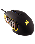 Scimitar Pro RGB Gaming Mouse -Black/Yellow- (Corsair) (PC Games)