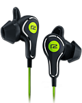 Titan In-Ear Headphones -Black/Green- (Ready2Music)