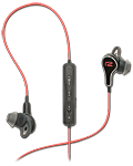 Titan In-Ear Headphones -Black/Red- (Ready2Music)
