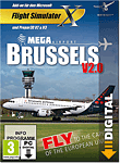 Flight Simulator X: Mega Airport Brussels V2.0 (PC Games-Digital)