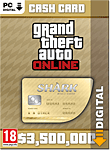 Grand Theft Auto 5: Whale Shark 3'500'000 Cash Card (PC Games-Digital)