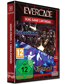 Evercade Xeno Crisis / Tanglewood - Dual Game Cartridge