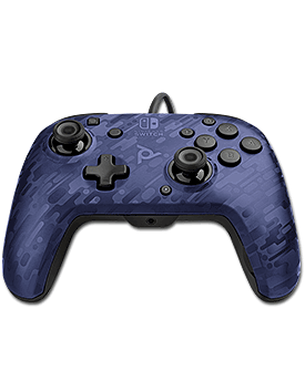 Controller Faceoff Deluxe Audio V2 -Blue- (PDP)