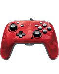 Controller Faceoff Deluxe Audio -Red Camouflage- (PDP)