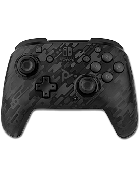 Controller Faceoff Wireless Deluxe -Black Camo- (PDP)