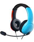 LVL 40 Wired Stereo Gaming Headset -Red/Blue- (PDP)