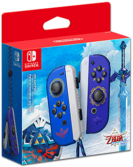 Joy-Con Pair -The Legend of Zelda: Skyward Sword HD-Edition- (Nintendo) (Limitiert auf 1 Exemplar pro Kunde)