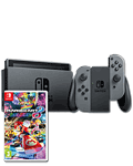Nintendo Switch - Mario Kart 8 Set -Grey- (Nachlieferung)