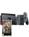 Nintendo Switch - Octopath Traveler Set -Grey-