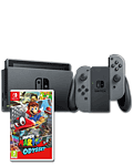 Nintendo Switch - Super Mario Odyssey Set -Grey-