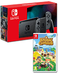 Nintendo Switch (2019) - Animal Crossing Set -Grey-