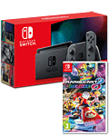 Nintendo Switch (2019) - Mario Kart 8 Set -Grey-