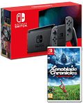 Nintendo Switch (2019) - Xenoblade Set -Grey-
