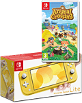 Nintendo Switch Lite - Animal Crossing Set -Yellow-