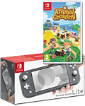 Nintendo Switch Lite - Animal Crossing Set -Grey-