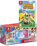 Nintendo Switch Lite - Animal Crossing Set -Zacian & Zamazenta-