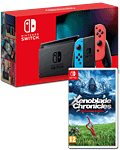 Nintendo Switch (2019) - Xenoblade Set -Red/Blue-