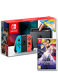 Nintendo Switch - Fire Emblem & eShop Voucher Set -Red/Blue-