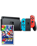 Nintendo Switch - Mario Tennis Set -Red/Blue-