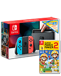 Nintendo Switch - Super Mario Maker 2 & eShop Voucher Set -Red/Blue-