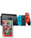 Nintendo Switch - Super Mario Odyssey Set -Red/Blue- (Nintendo Switch)