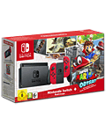 Nintendo Switch - Super Mario Odyssey Set -Red-