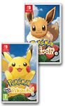 Pokémon: Let's Go, Pikachu! & Evoli (2 Spiele Set)
