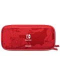 Carrying Case & Screen Protector - Super Mario Odyssey Edition (Nintendo)